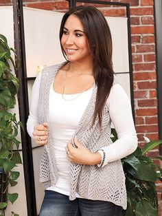 Salient Vest knit pattern