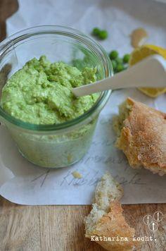 Hummus aus grünen Erbsen, und: Vom (richtigen) Einfrieren und Auftauen