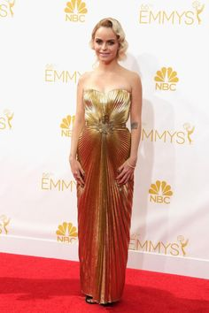 Taryn Manning in Azzaro at the 2014 Emmys