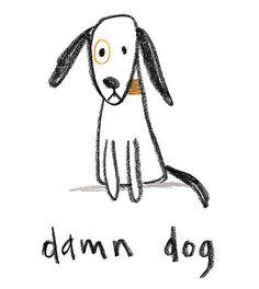 Dog Illustrations by Jared Chapman