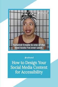 Does your social media pass the accessibility test? Find out how to create user-friendly designs in seconds with our easy guide! Social Media Content, Social Media Design, Social Media Tips, Hashtag Finder, Text Overlay, Target Audience, Content Marketing, Learning, Create