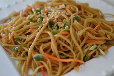 casual glamorous: Spicy Thai Noodles