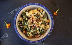 Orange Maple Butternut Squash and Tofu Salad [Vegan] | One Green Planet