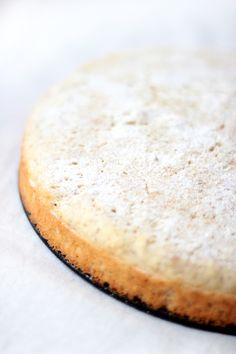 cardamom scented white coconut cake