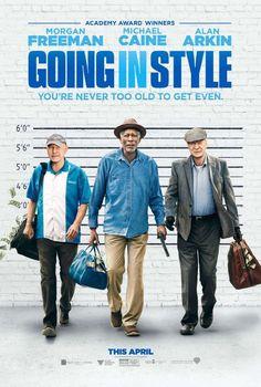 Starring Michael Caine, Morgan Freeman, Alan Arkin | Comedy, Crime #MorganFreeman