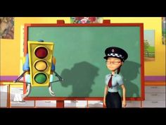 ▶ GreenLight - Traffic signs for kids, educational videos to learn road safety - YouTube