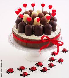 Schokoladenküsse-Torte