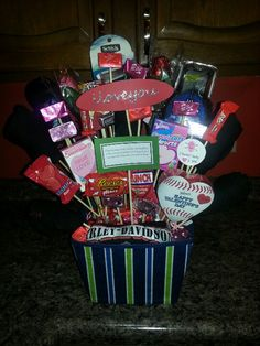 Valentine's day man bouquet