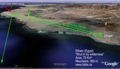 Exodus Route proposed