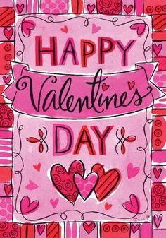Custom Decor Flag - Valentine's Banner Decorative Flag at Garden House Flags Valentines Day Clipart, Valentine Banner, Happy Valentines Day Images, Valentines Day Makeup, Valentine Greeting Cards, Valentines Day Treats, Valentines Day Decorations, Be My Valentine, Valentines Art