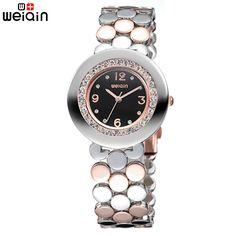 WEIQIN New Arrival Fashion brand Women Watches Casual Crystal Diamond Ladies Watch Relojes Mujer2017Quartz WatchWoman Waterproof