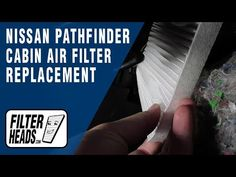 How To Replace Cabin Air Filter  Nissan Pathfinder