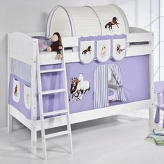 Wrigglebox Ida Horses Bunk Bed With Curtain And Two Slats High Sleeper Bedroom Make the Best this Amazing Opportunity. At Luxury Home Brands WE always Find Great Stuff for you :)