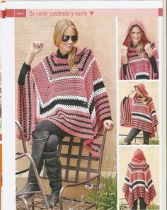 10 Crochet Ponchos                                                                                                                                                                                 More