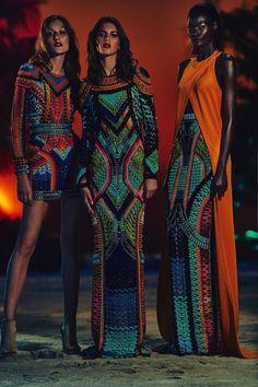 Balmain fashion collection 2017