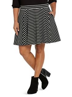 bc543343d8 Striped Circle Mini Skirt >>> You can find more details by visiting the  image