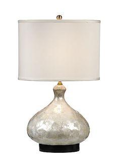 Gorgeous! Wildwood Lamps - SHELLS BOTTLE LAMP (item#13117)