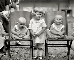 """Play Date: September 7, 1922. Washington, D.C. """"Playground baby show."""" National Photo Company Collection glass negative. Click to view full size."""