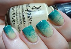 China Glaze On Safari Collection: Kalahari Kiss swatch and Gradient with Exotic Encounters | Polished Love ♥