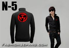 *Jaket Anime Naruto N-5 *Material : Poly Adidas Best Quality