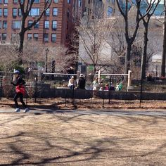 Central Park: Tarr Coyne Tots Playground - New York City, NY #Yuggler #KidsActivities #NYC