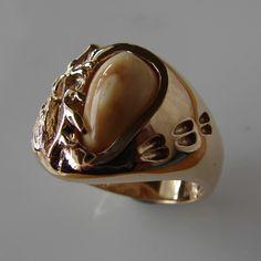 Image result for elk ivory ring Antler Jewelry, Antler Art, Elk Ivory, Gold Platinum, Antlers, Belt Buckles, Jewelery, Gemstone Rings, Wedding Rings