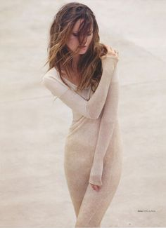 Swept Away in a gorgeous sweater dress Pose Mannequin, Beach Editorial, Nude Beach, The Blushed Nudes, Swept Away, Bikini, Silhouette, Blouse, Casual