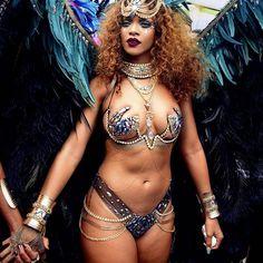 Rihanna's Body Killing It at Carnival