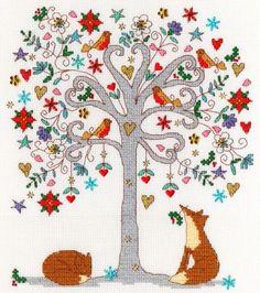Love Winter - Bothy Threads Cross Stitch Kit