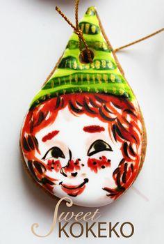Galletas Navidad 2014 - Elfa de Papá Noel Christmas Cookies 2014 - Santa Claus She Elf http://www.sweetkokeko.com