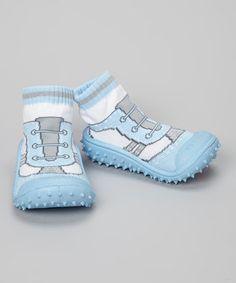 Look at this #zulilyfind! Skidders Blue Cool Sports Gripper Shoe by Skidders #zulilyfinds