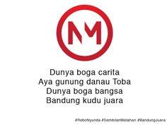 Sukseskan gerakan Bandung Juara!