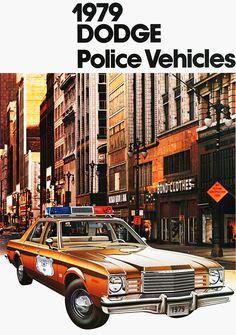 Dodge Police car brochure (1979)