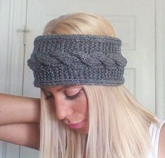 Hey, I found this really awesome Etsy listing at https://www.etsy.com/ca/listing/173544025/cable-headband-knit-earwarmer