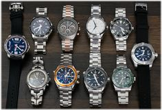 http://www.bernardwatch.com/Whats-New-868 Today's update is all sports watches, including a 'Jason Bourne' TAG Heuer Link Chronograph, a 'Hulk' Rolex Submariner and a Breitling Avenger II Seawolf.  Five Omegas on this update include a pair of Planet Oceans, an ever popular sword-hands Seamaster 2254.50 and a pair of new models - an Aqua Terra Golf and a Speedmaster Mark II.  Rounding out the update is a Longines Admiral GMT and a Chopard Mille Miglia GTS.