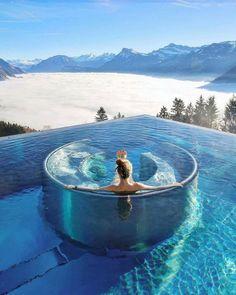 Hotel Villa Honegg In Switzerland Honeymoon Cruise, Honeymoon Hotels, Honeymoon Night, Honeymoon Style, Unique Honeymoon Destinations, Travel Destinations, Vacation Travel, Honeymoon Ideas, Air Travel