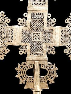 Ethiopian cross - we used to have one at home, belonged to my dad...exquisite.