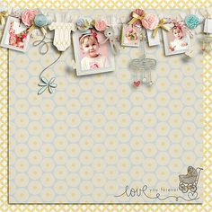 Love this!! I would love to do this for my baby scrapbook!