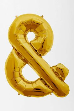 Gold Symbol Party Balloon- they also have letters.. I would get A&J for my wedding