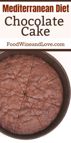 Yes! This tasty chocolate cake recipe is friendly to the Mediterranean Diet! So Yummy! Copyright @foodwineandlove see how to bake this dessert… More #SkinMoles Mediterranean Diet Meal Plan, Easy Mediterranean Diet Recipes, Mediterranean Dishes, Egg And Grapefruit Diet, Boiled Egg Diet Plan, Tasty Chocolate Cake, Diet Desserts, Eating Eggs, Dash Diet
