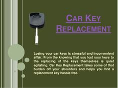 Car key replacement by LostCarKeys via slideshare