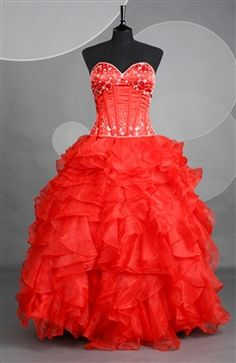 Sweetheart Strapless Ball Gown Floor-length OuterInner.com