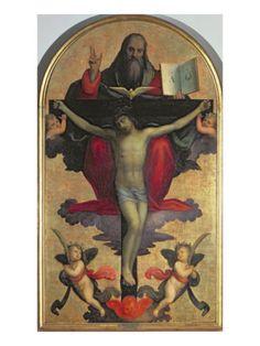The Holy Trinity Giclee Print