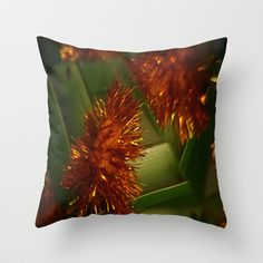 Since I was a little girl.  Throw Pillow by Celia Dias - $20.00