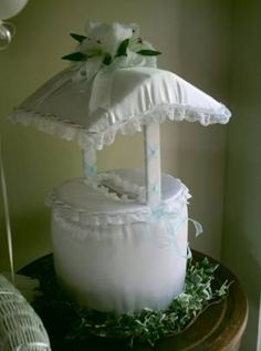 wishing well centerpiece ideas | How to create a stunning bridal shower wishing well .