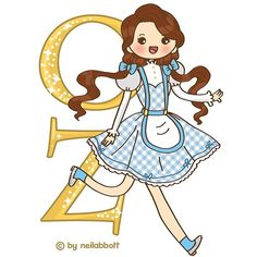 Dorothy of Oz by neilabbott