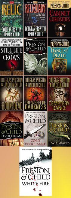 Pendergast Novels In Order by Douglas Preston & Lincoln Child