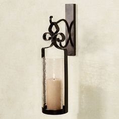Sabra Hanging Hurricane Wall Sconce