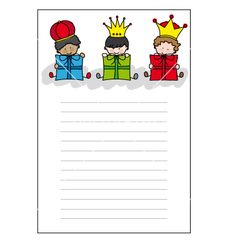 Letter to the three kings vector 699307 - by sbego on VectorStock®