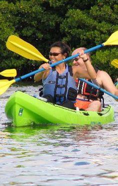 Kayak, Hike - St Thomas Mangrove Lagoon (My first time kayaking in the Virgin Islands) Memories <3